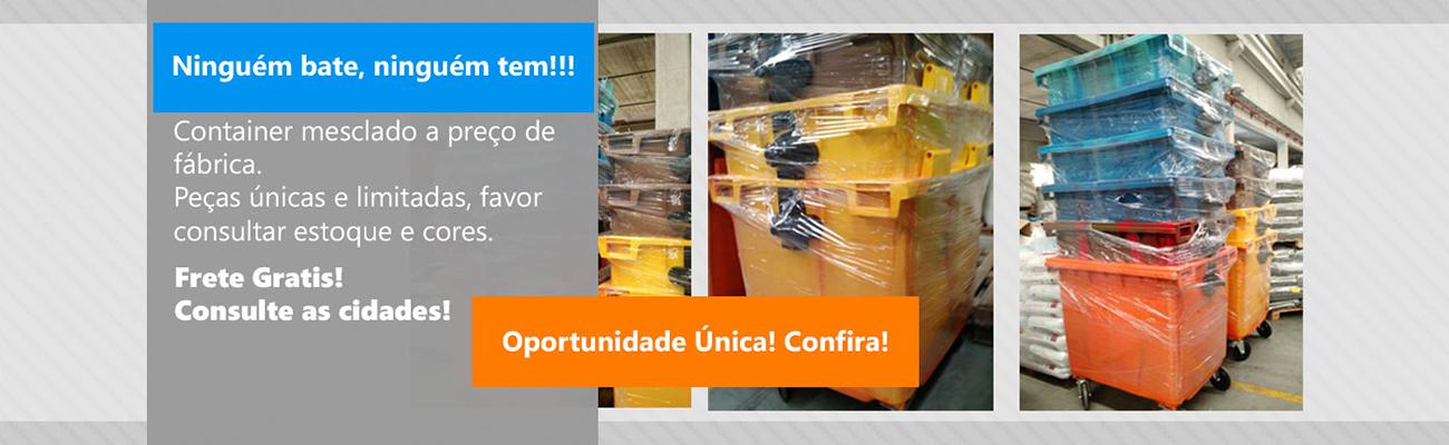 Container promoção