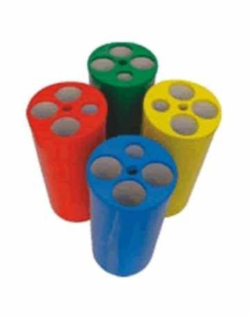 Dispensadores de Copos Descartáveis com 5 Tubos