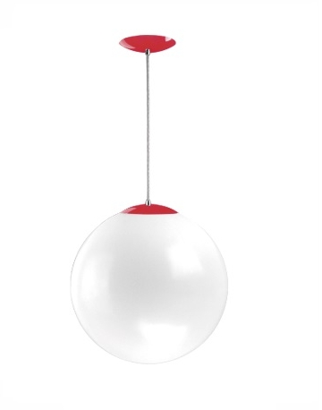 Luminária decorativa pendente tipo bola