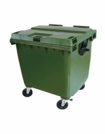 Lixeira Container Plástico 1000 Litros
