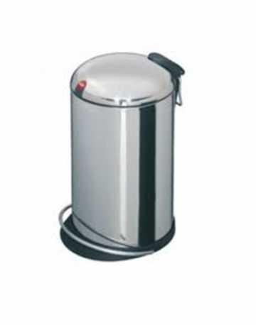 Lixeira em Aço Inox com Alça e Recipiente Removível 16 litros