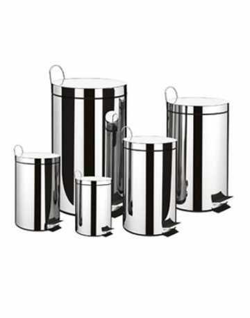 Lixeiras aço Inox TRAMONTINA 30 litros