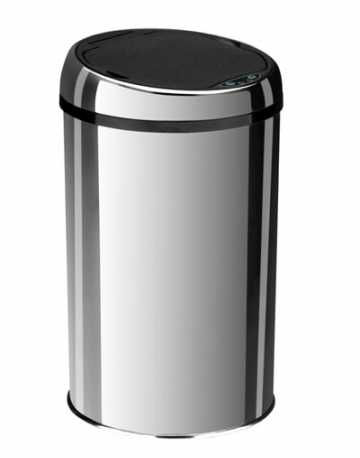 Lixeiras Inox com sensor 42 litros