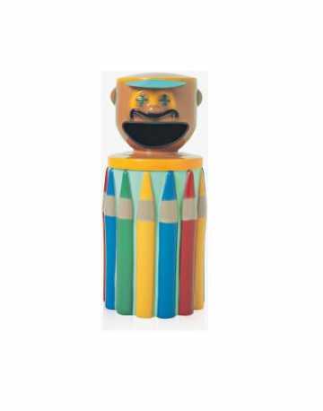Lixeira Infantil Palhaço corpo de lápis
