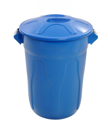 Cestos de Lixo Plástico com Tampa Modelo Tambor