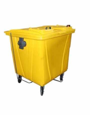 Container em plástico